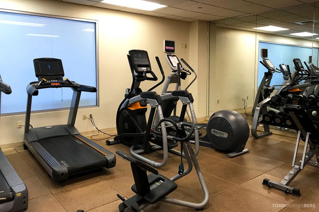 Renaissance Newark Airport Hotel fitness