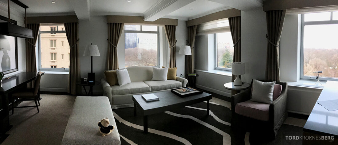 Ritz-Carlton Hotel New York Central Park panorama suite
