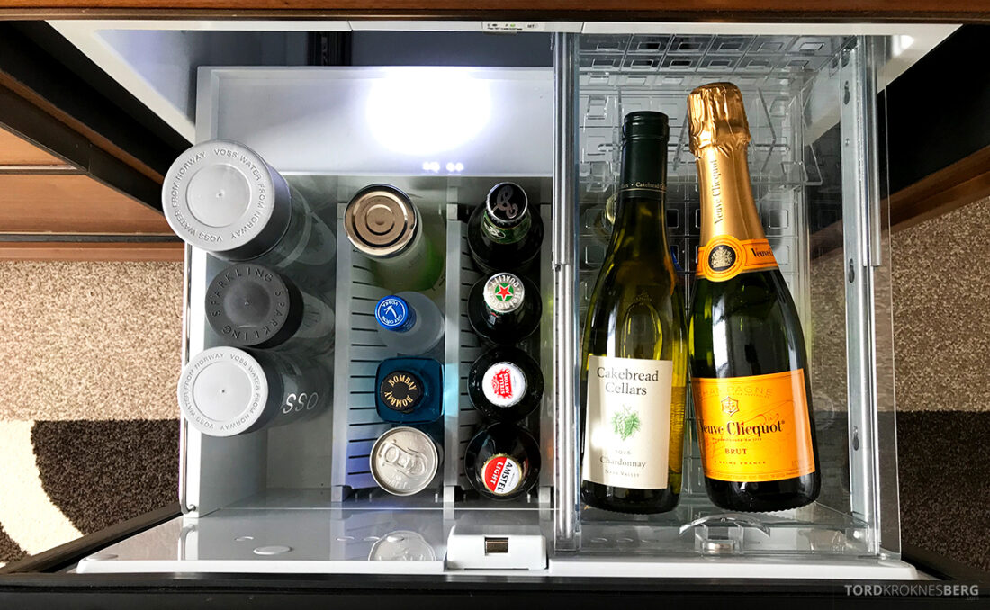 Ritz-Carlton Hotel New York Central Park minibar