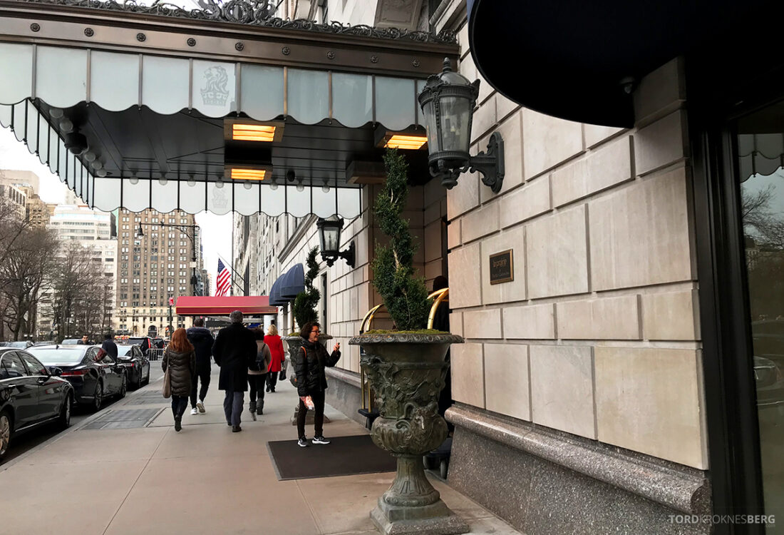 Ritz-Carlton Hotel New York Central Park inngangsparti