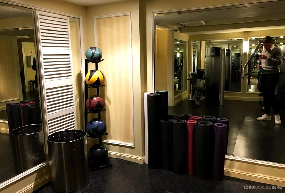 Ritz-Carlton Hotel New York Central Park gym detaljer
