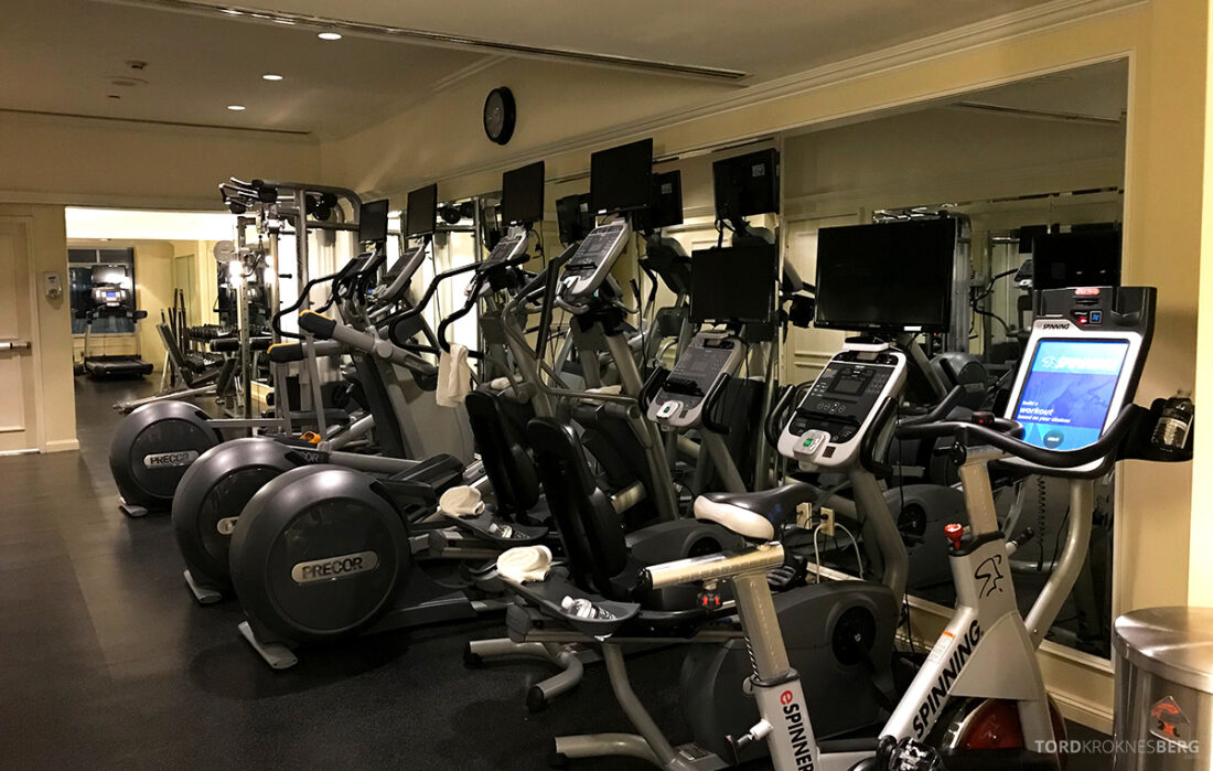Ritz-Carlton Hotel New York Central Park apparater fitness