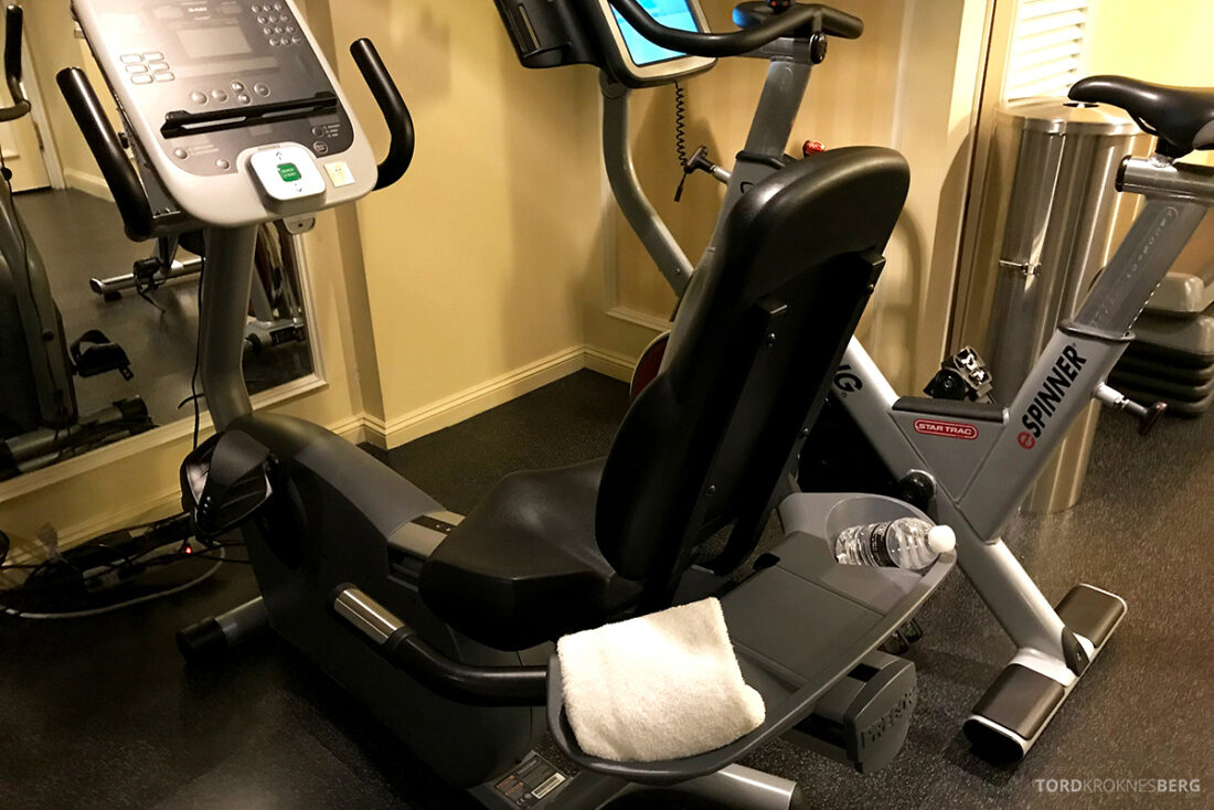 Ritz-Carlton Hotel New York Central Park gym utstyr