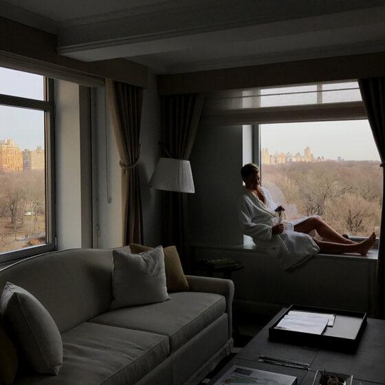 Ritz-Carlton Hotel New York Central Park Tord Kroknes Berg utsikt vindu