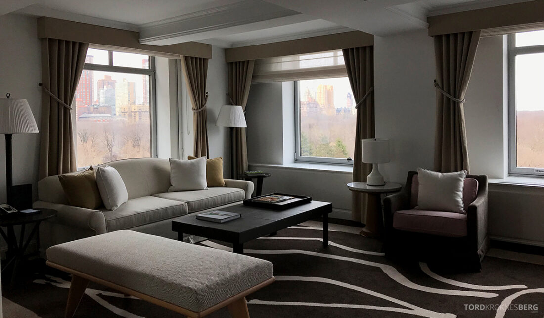 Ritz-Carlton Hotel New York Central Park stue