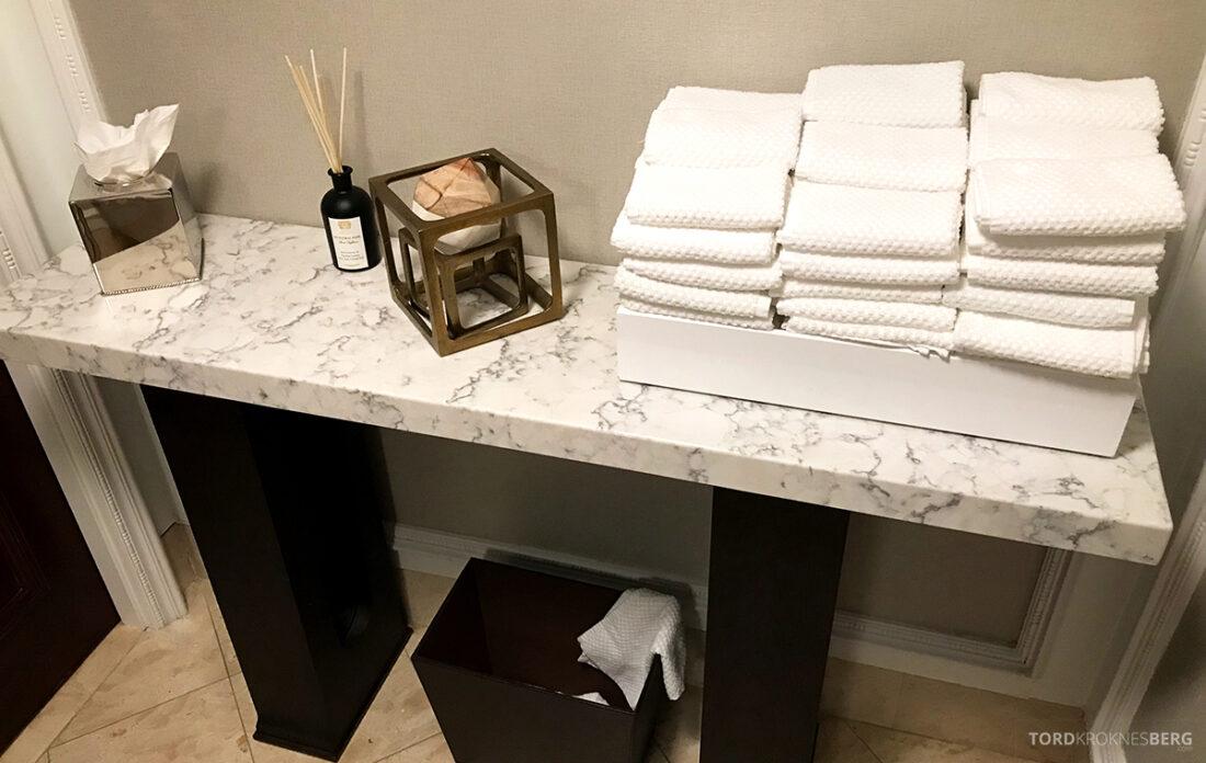 Ritz-Carlton Hotel New York Central Park Club Lounge toalett