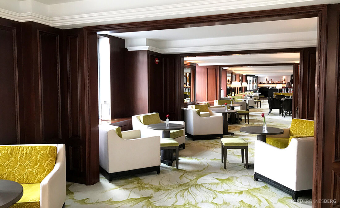 Ritz-Carlton Hotel New York Central Park Club Lounge lokale