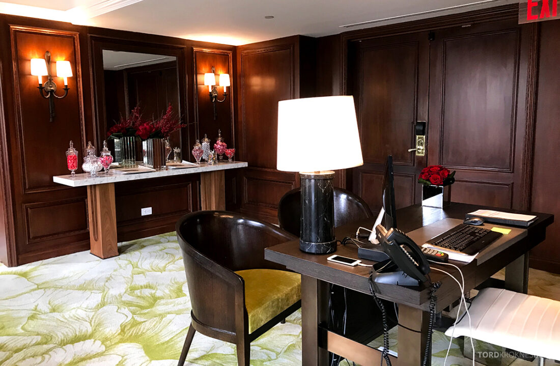 Ritz-Carlton Hotel New York Central Park Club Lounge resepsjon