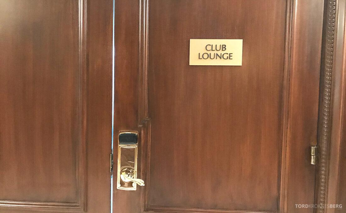 Ritz-Carlton Hotel New York Central Park Club Lounge inngang