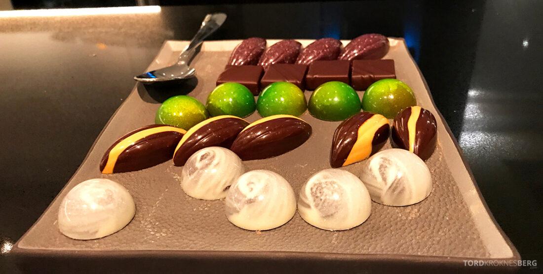 Ritz-Carlton Hotel New York Central Park Club Lounge sjokolade