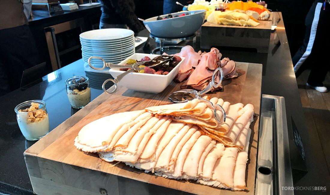 Ritz-Carlton Hotel New York Central Park Club Lounge pålegg frokost