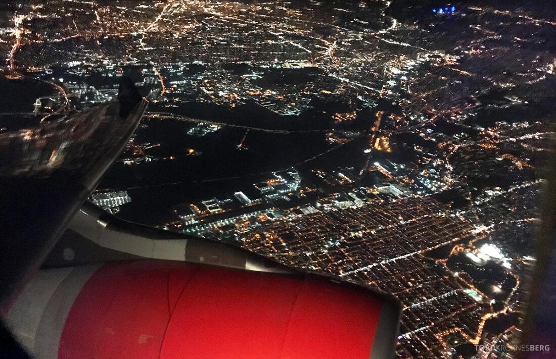 SAS Plus New York Oslo direkte adjø