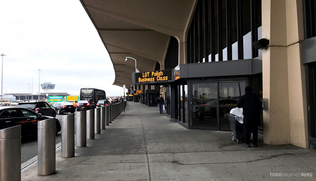SAS Plus New York Oslo direkte terminal