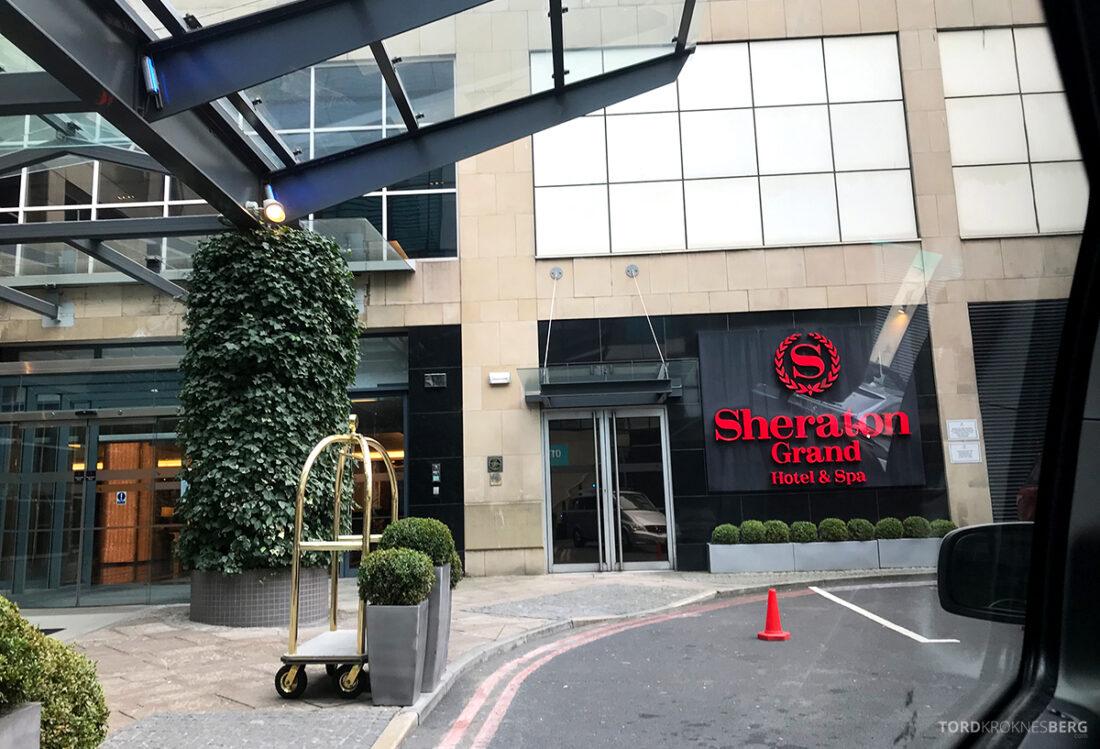 Sheraton Grand Hotel & Spa Edinburgh velkommen