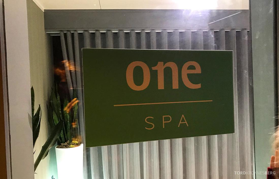 Sheraton Grand Hotel & Spa Edinburgh inngang spa