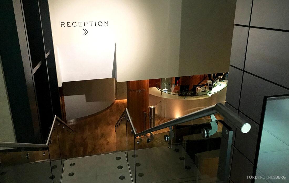 Sheraton Grand Hotel & Spa Edinburgh spa resepsjon