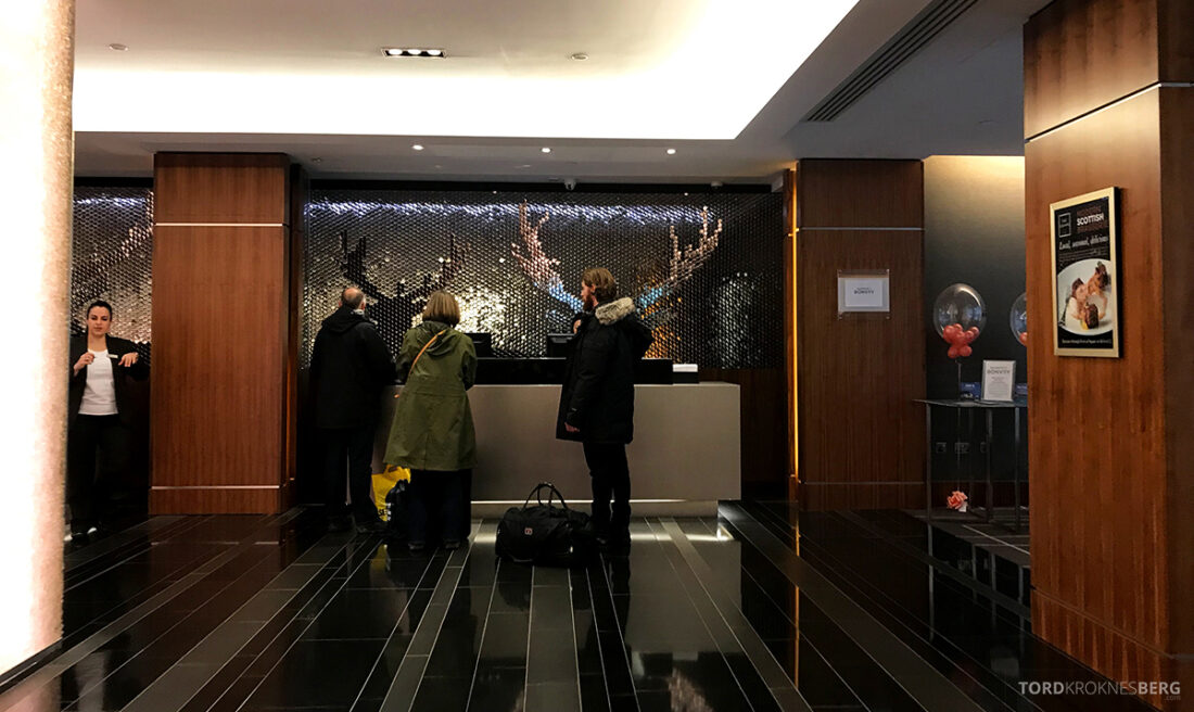 Sheraton Grand Hotel & Spa Edinburgh resepsjon