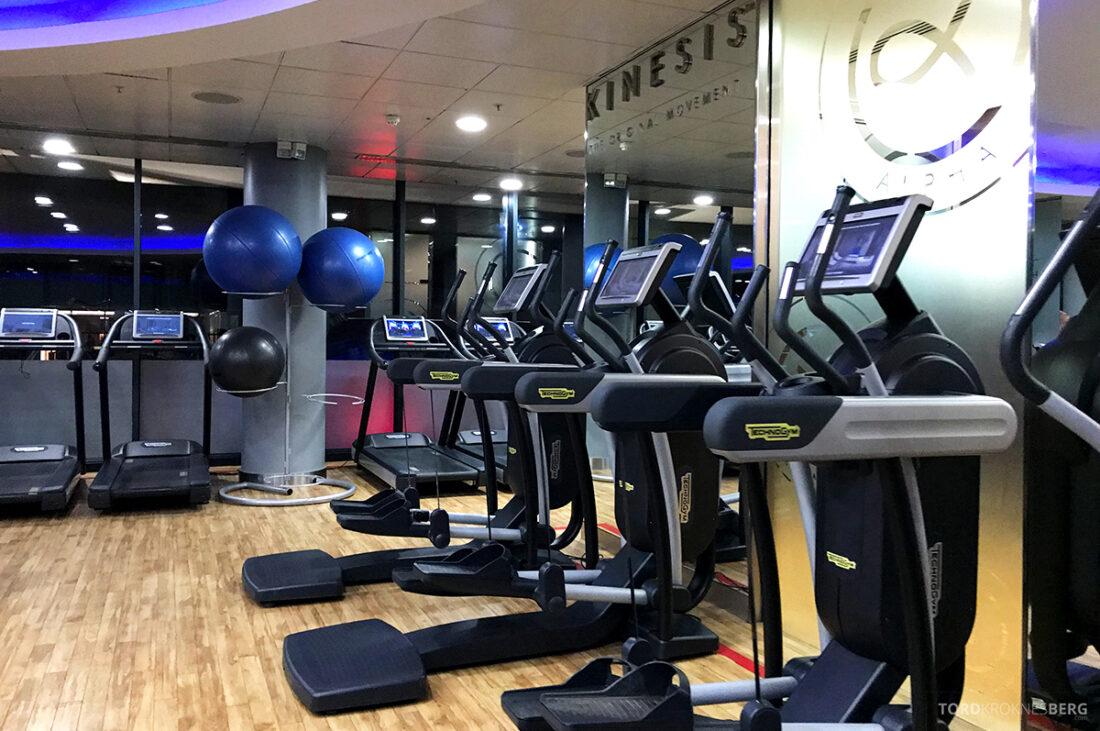 Sheraton Grand Hotel & Spa Edinburgh apparater trening