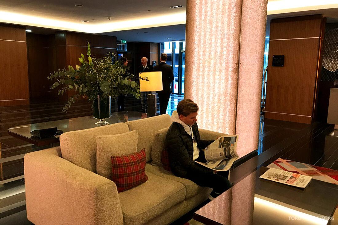 Sheraton Grand Hotel & Spa Edinburgh Tord Kroknes Berg lobby