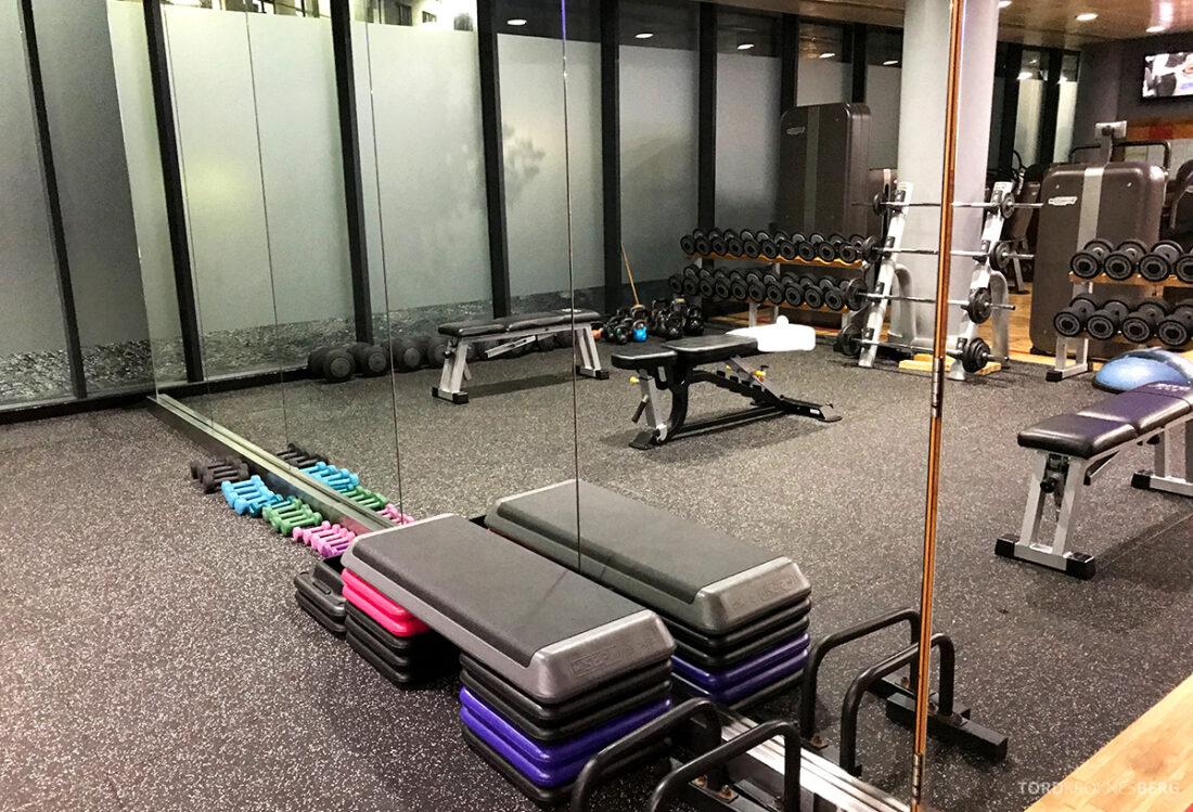 Sheraton Grand Hotel & Spa Edinburgh styrke gym