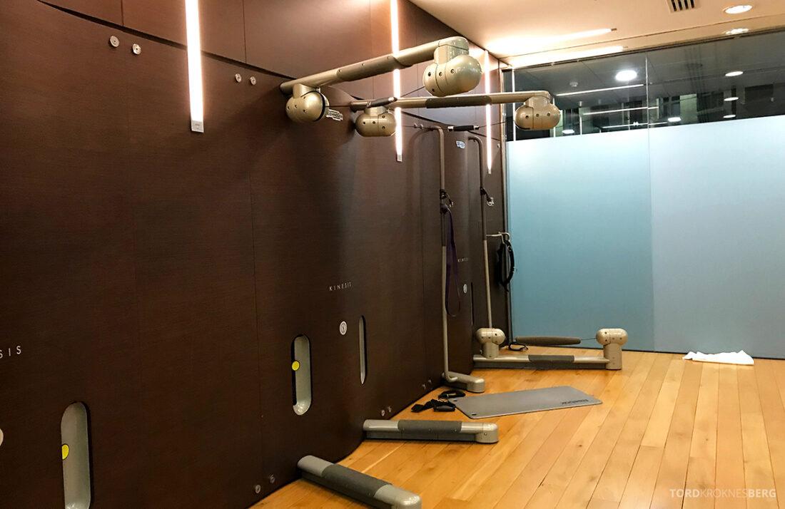 Sheraton Grand Hotel & Spa Edinburgh utstyr gym