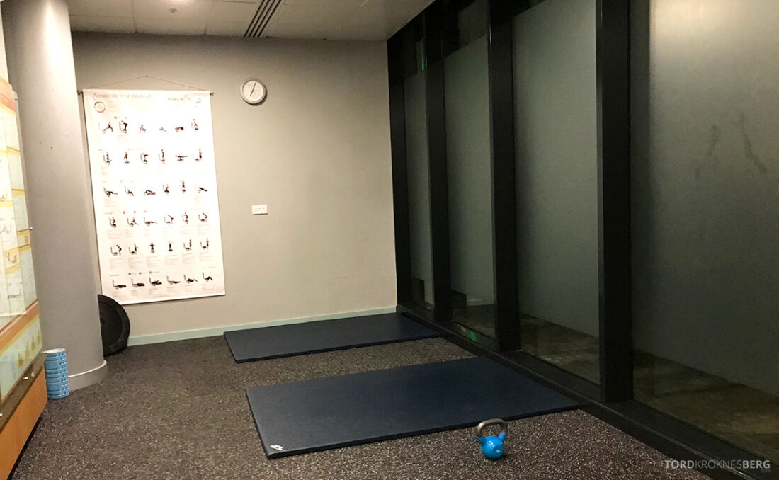 Sheraton Grand Hotel & Spa Edinburgh gym rom