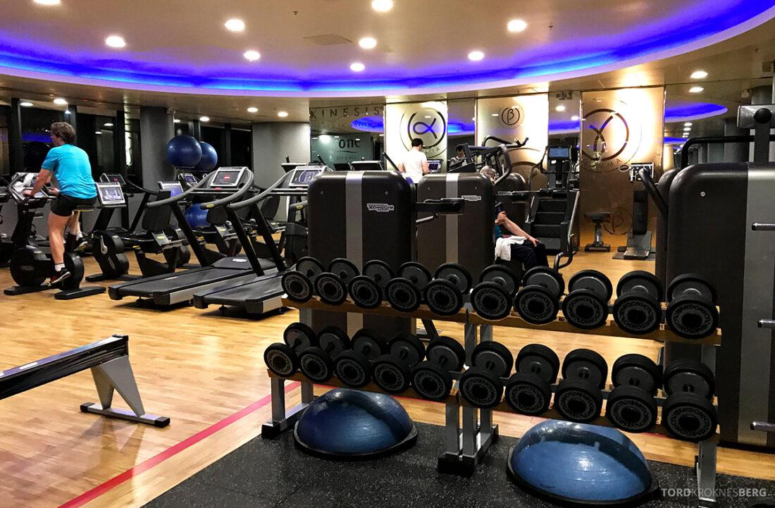Sheraton Grand Hotel & Spa Edinburgh gym vekter