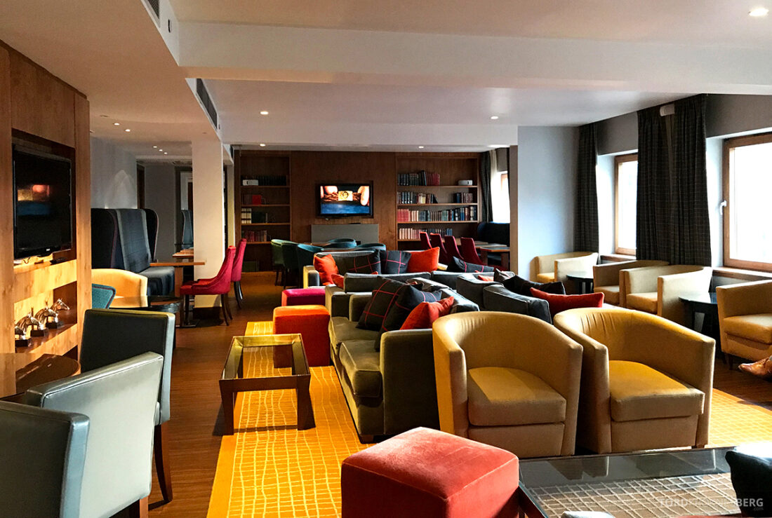Sheraton Grand Hotel & Spa Edinburgh Club Lounge lokale