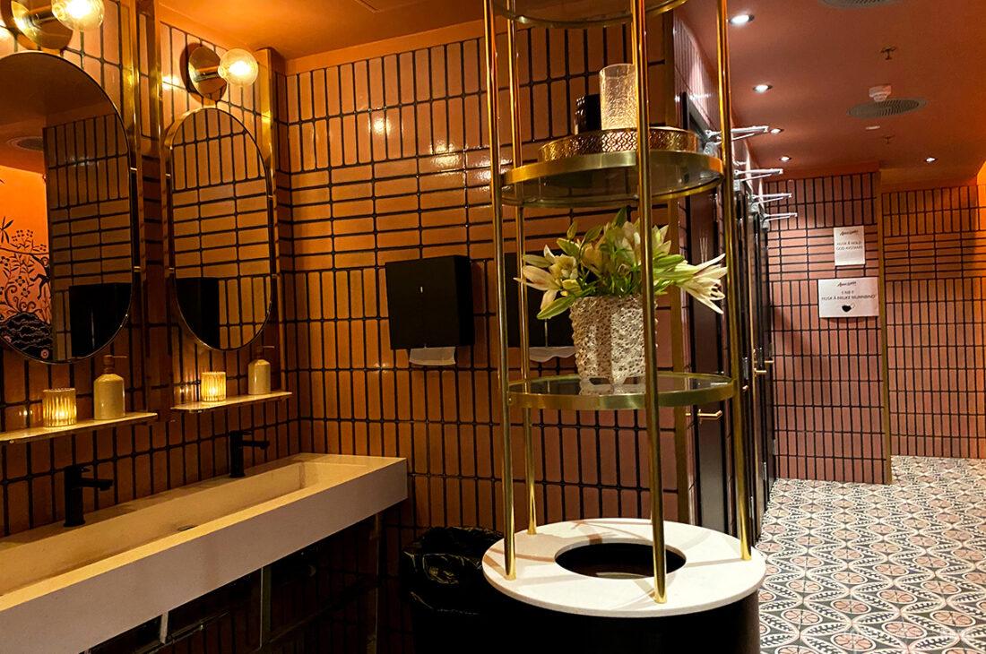 Amazonia Bar Tjuvholmen Oslo toalett