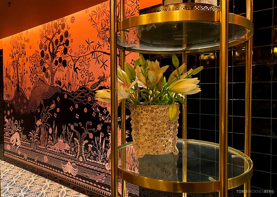 Amazonia Bar Tjuvholmen Oslo toalett blomster