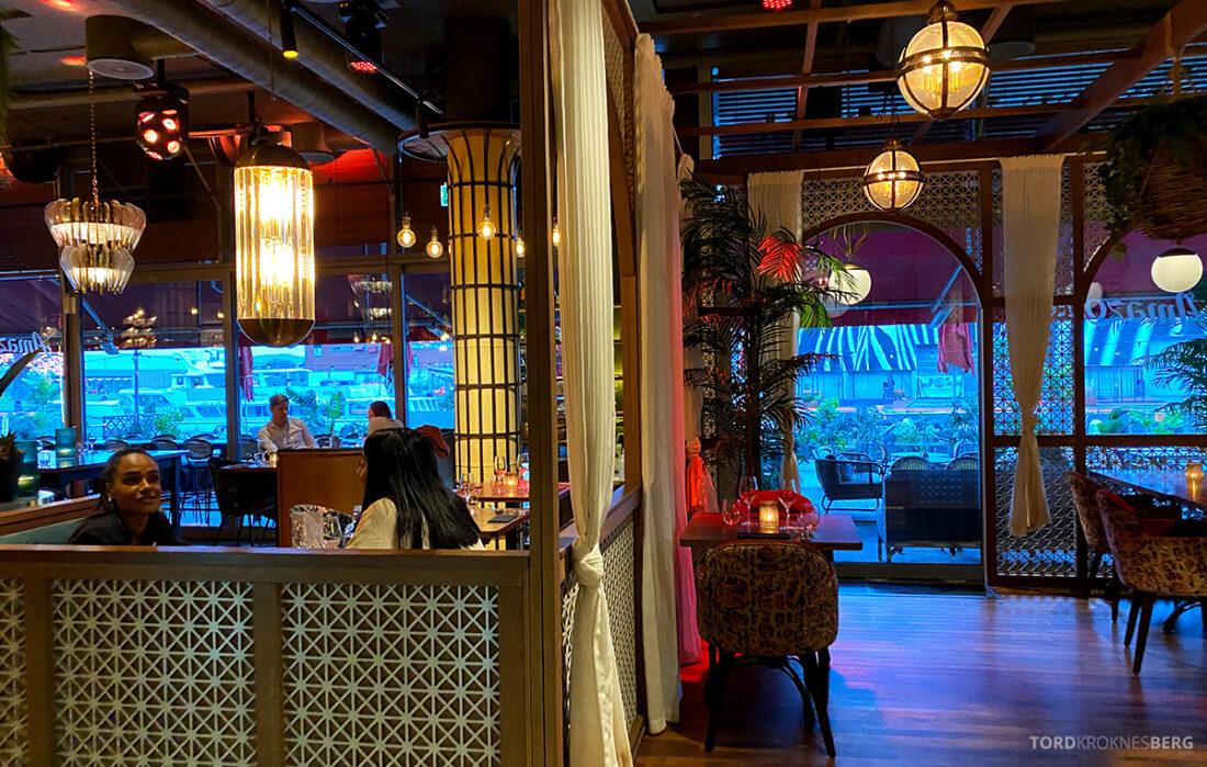 Amazonia Bar Tjuvholmen Oslo inne
