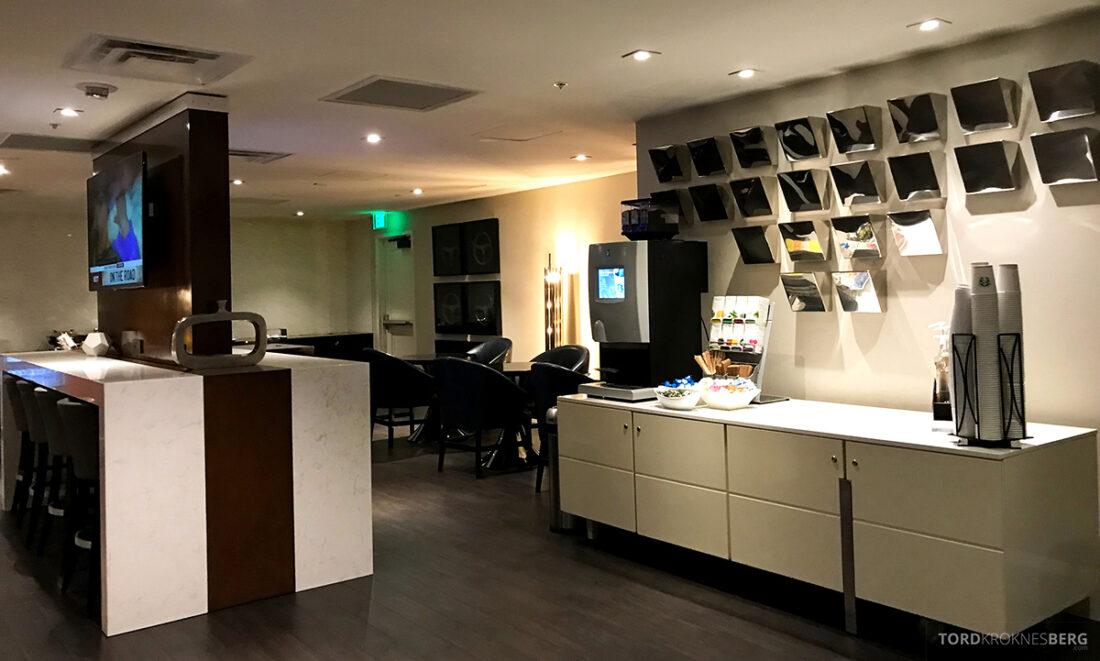 Beverly Hills Marriott Hotel Executive Lounge lokale