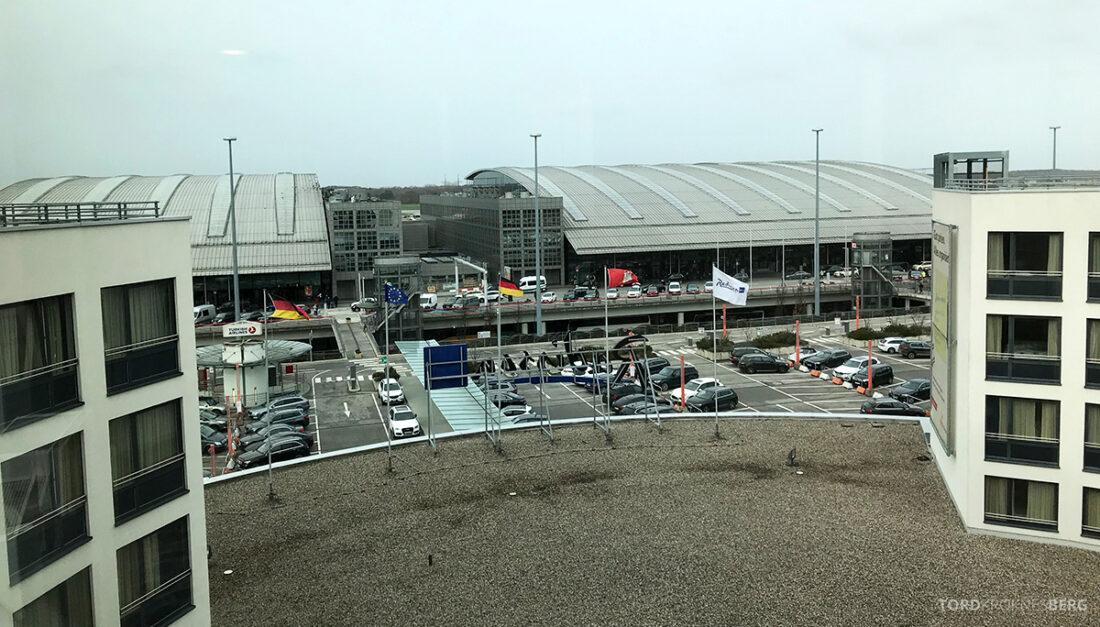 Radisson Blu Hamburg Airport utsikt