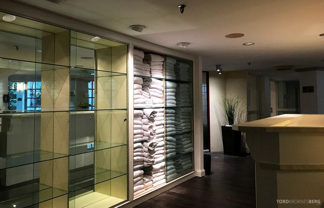 Marriott Hamburg Hotel håndklær