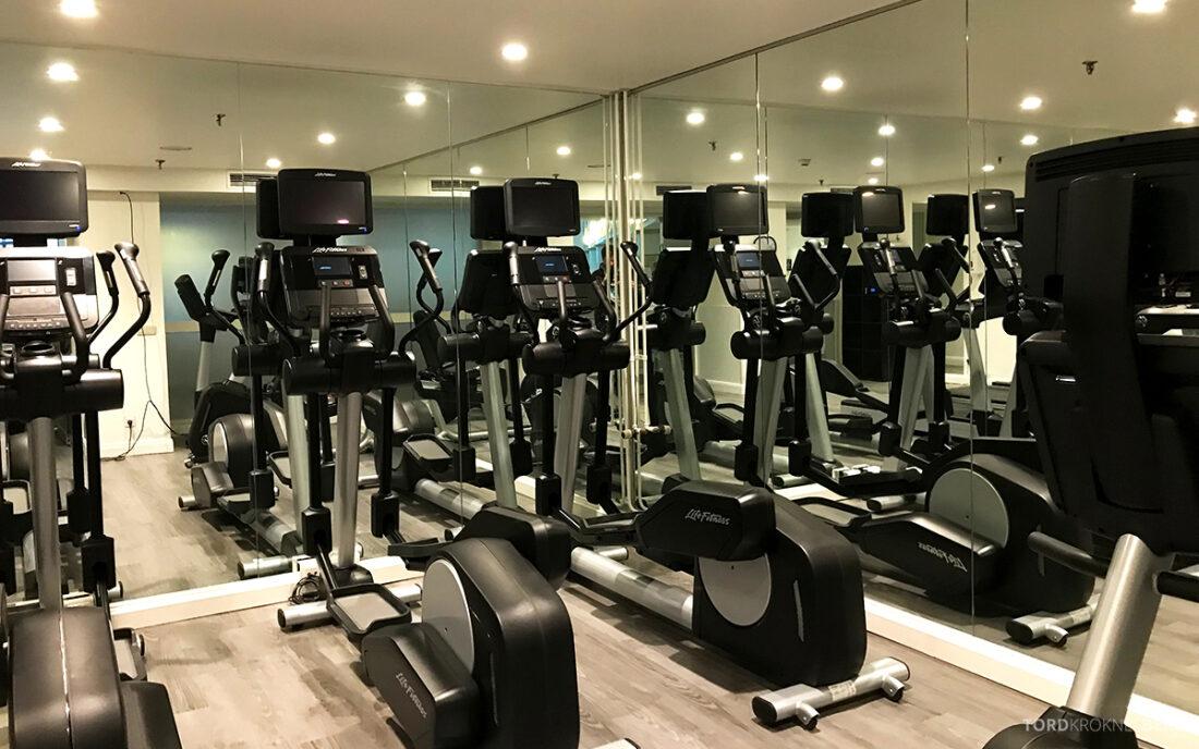 Marriott Hamburg Hotel gym apparater