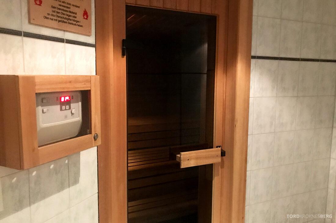 Marriott Hamburg Hotel sauna