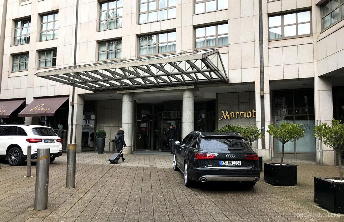 Marriott Hamburg Hotel hovedinngang