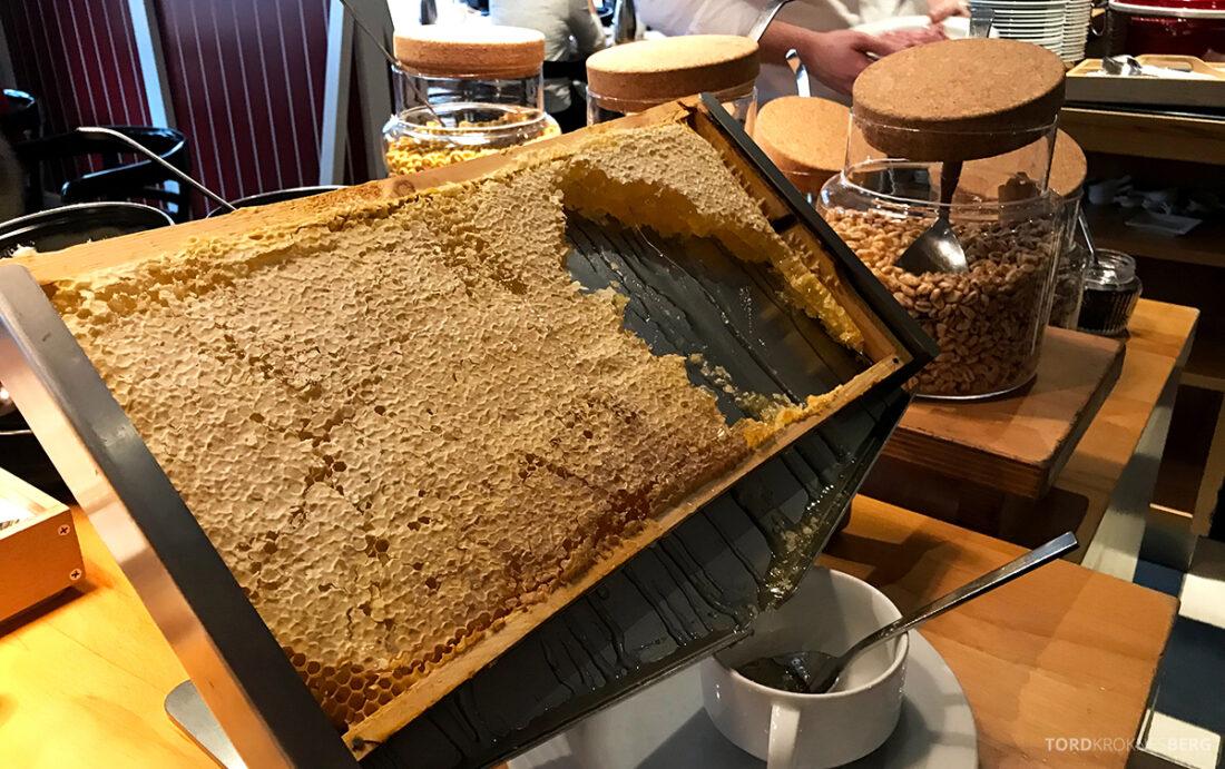 Marriott Hamburg Hotel frokost honning