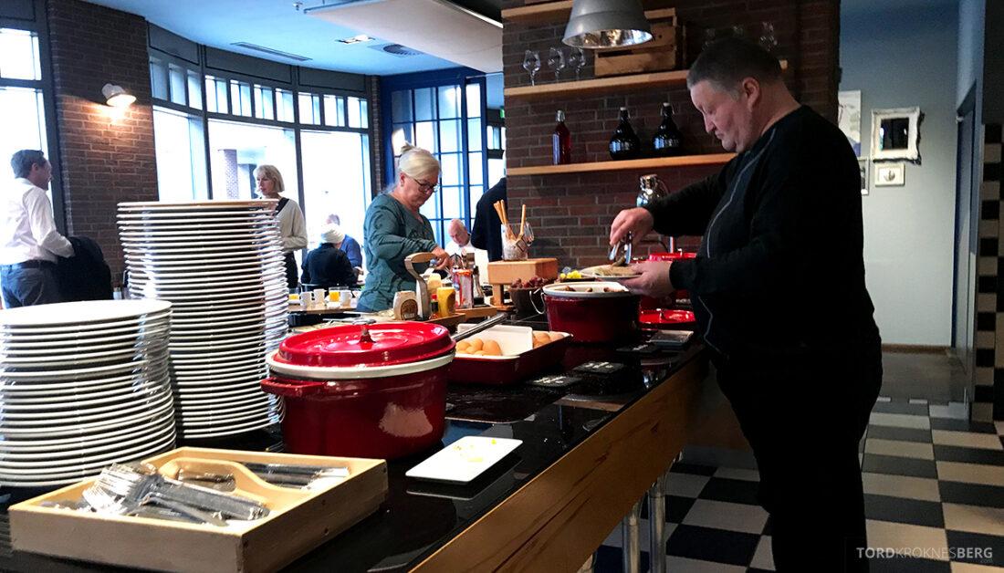 Marriott Hamburg Hotel frokostbuffet