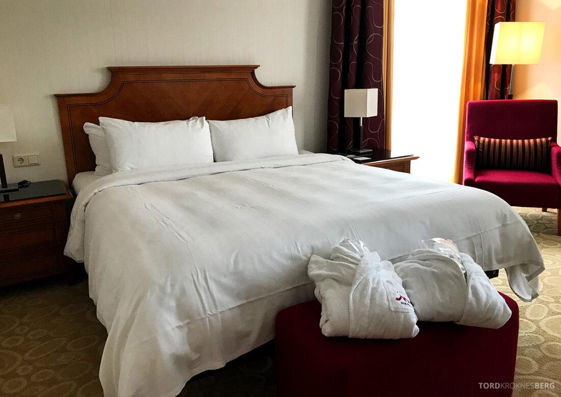 Marriott Hamburg Hotel seng