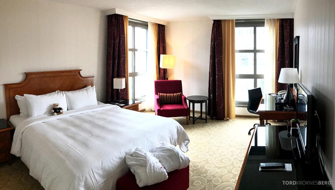 Marriott Hamburg Hotel oversikt værelse