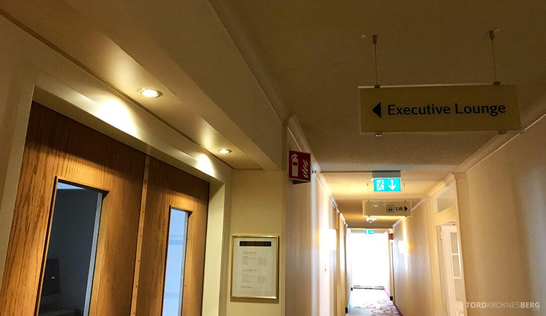 Marriott Hamburg Hotel Executive Lounge inngang
