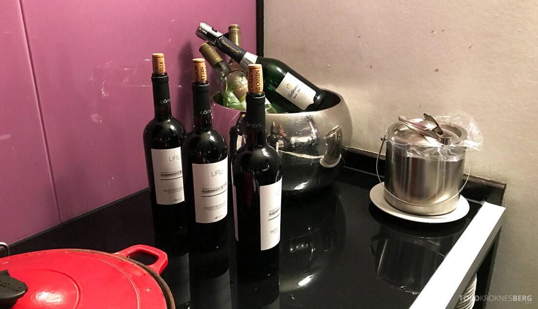 Marriott Hamburg Hotel Executive Lounge hors d'oeuvre vin