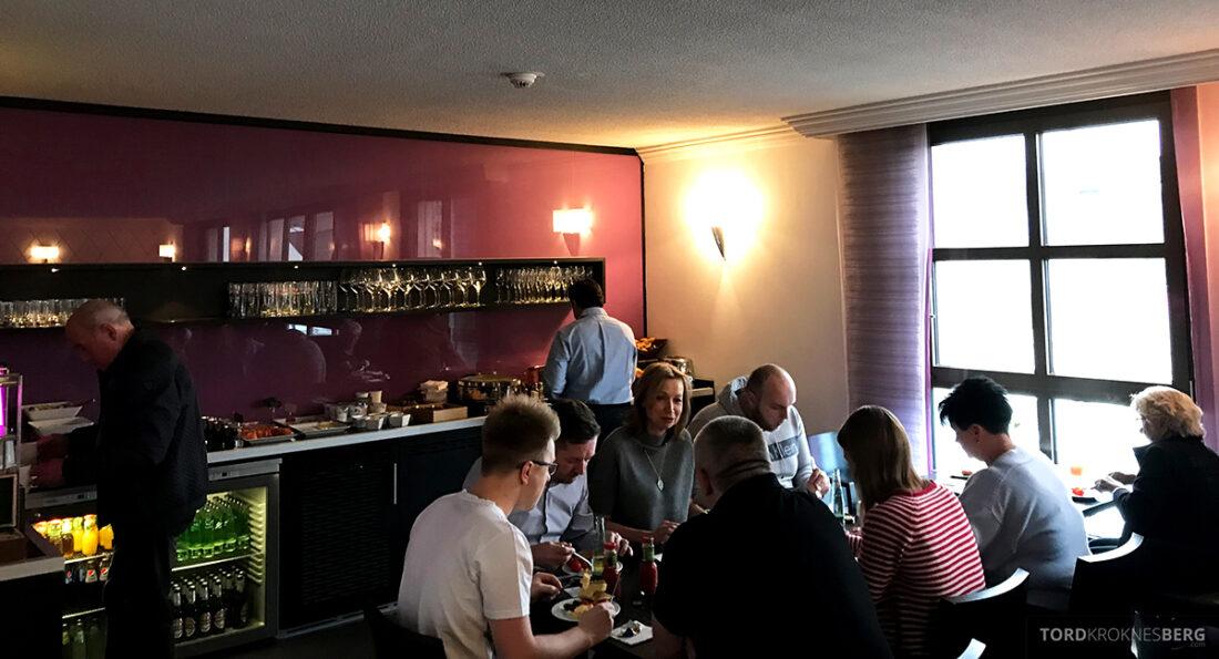 Marriott Hamburg Hotel Executive Lounge frokost