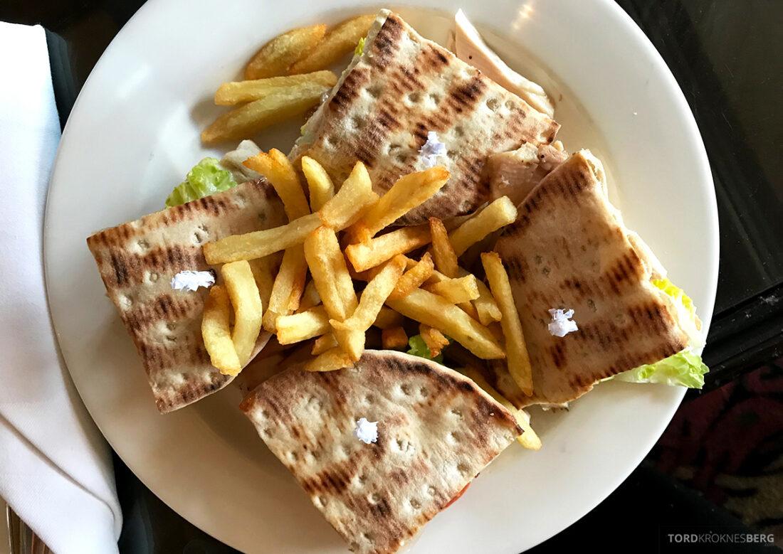 Old Course Hotel St. Andrews Scotland bar club sandwich