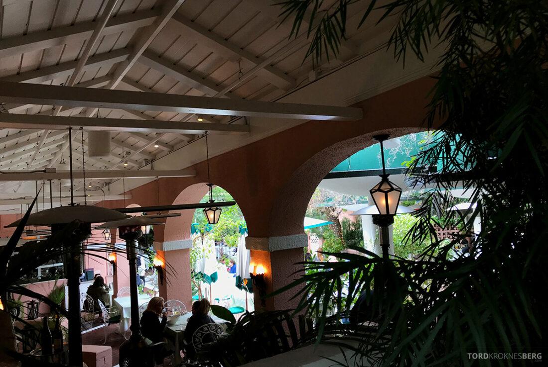 Polo Lounge Beverly Hills Hotel oversikt