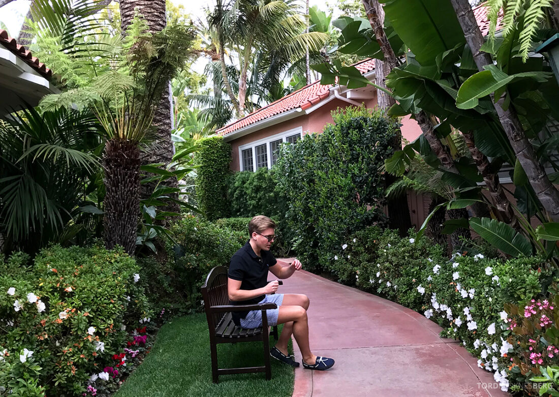 Polo Lounge Beverly Hills Hotel Tord Kroknes Berg have