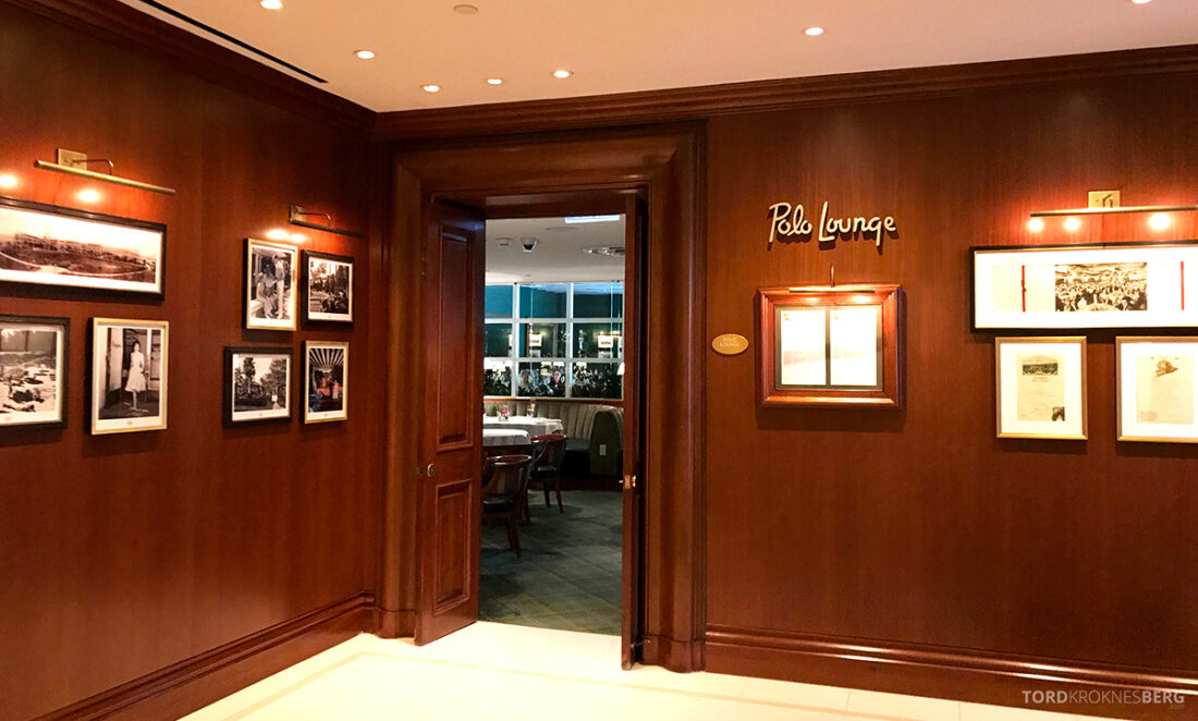 Polo Lounge Beverly Hills Hotel inngang