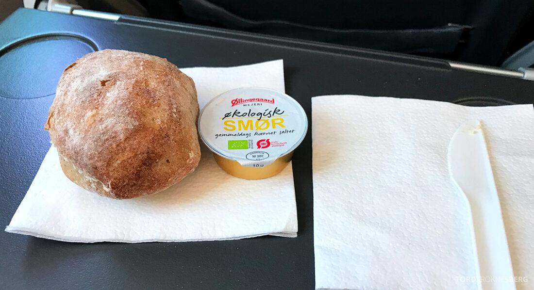 SAS Plus Edinburgh Oslo brød og smør