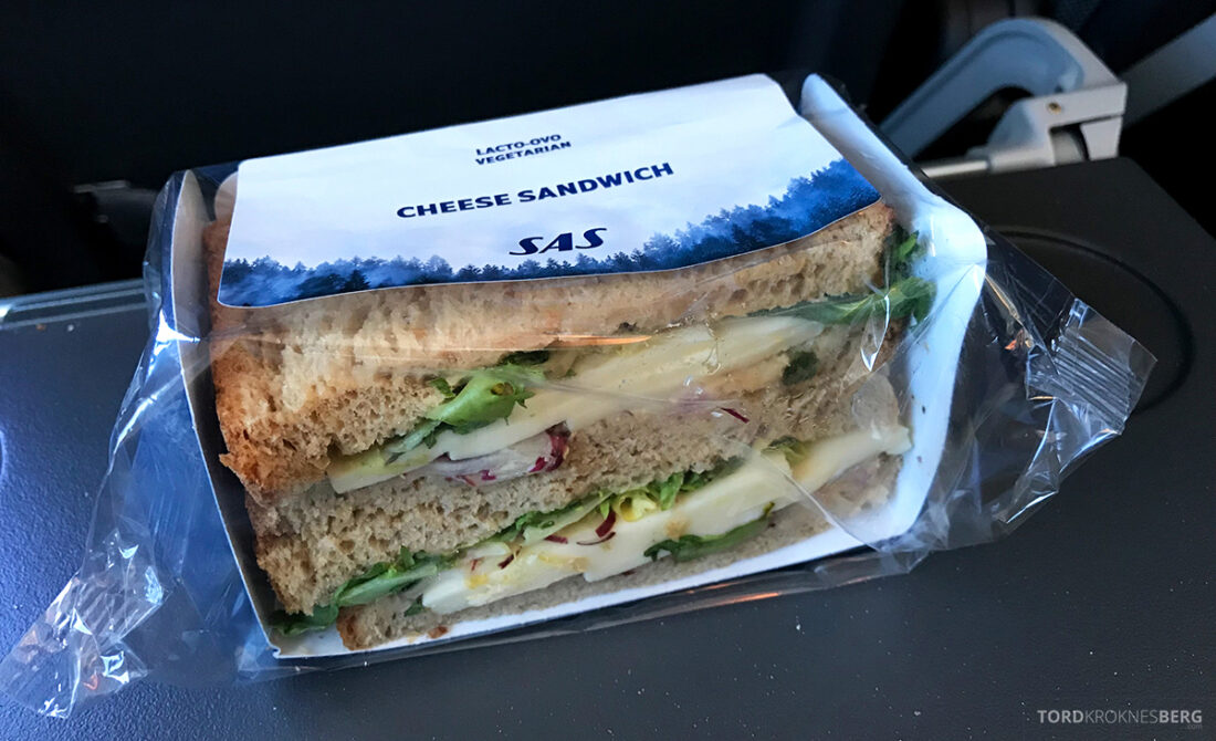 SAS Plus Edinburgh Oslo sandwich